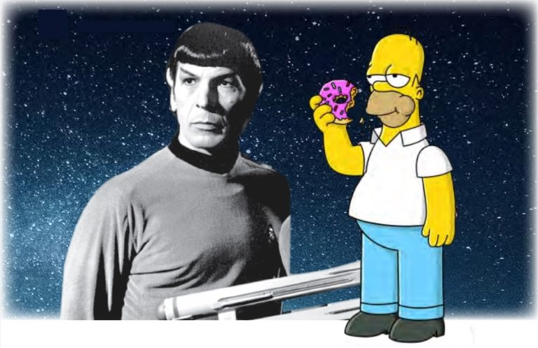 Being Spock (and not being Homer)